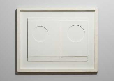 Ben Nicholson, 1936 (white relief), (1936)