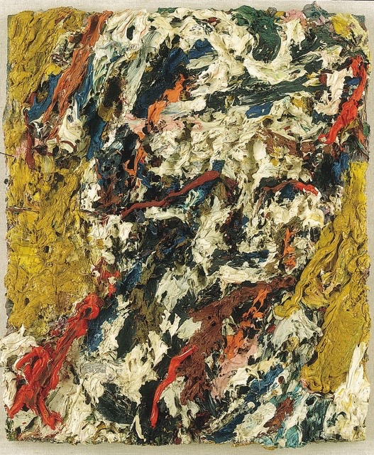 Frank Auerbach, Head of E.O.W (1965), oil on canvas. (© Frank Auerbach/courtesy of Marlborough Fine Art)