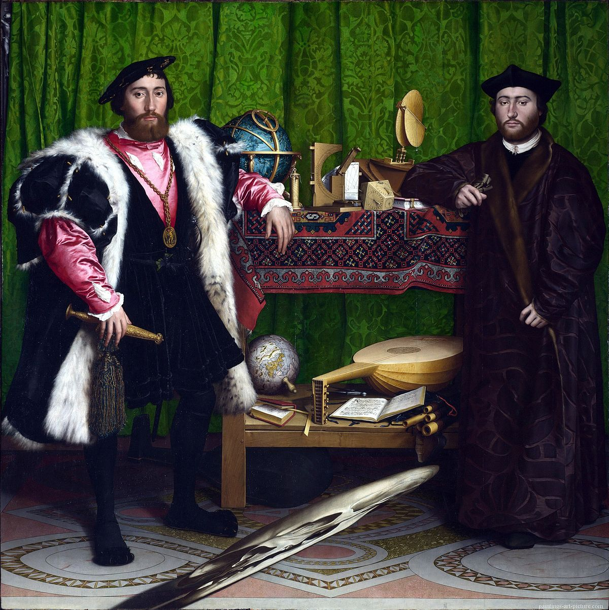 HOLBEIN-Hans-the-Younger-The-Ambassadors