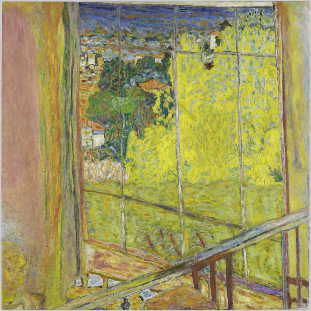 Pierre Bonnard L'atelier au mimosa 1939-46 Musée National d'Art Moderne - Centre Pompidou (Paris, France)